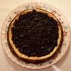 Cheesecake met bessencompôte